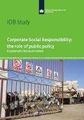 Cover report Corporate Social Responsibility