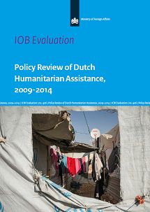 IOB – Policy Review of Dutch Humanitarian Assistance, 2009-2014