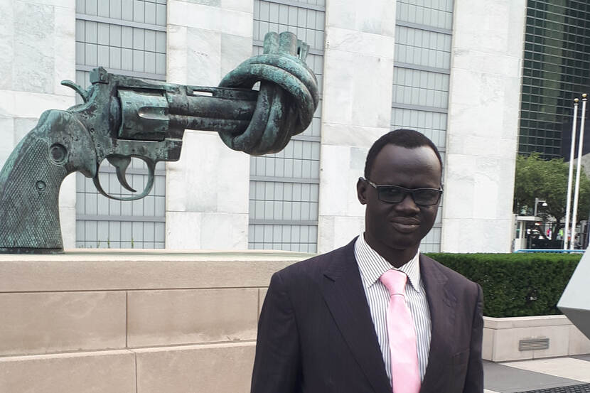 Former child soldier now works to protect children