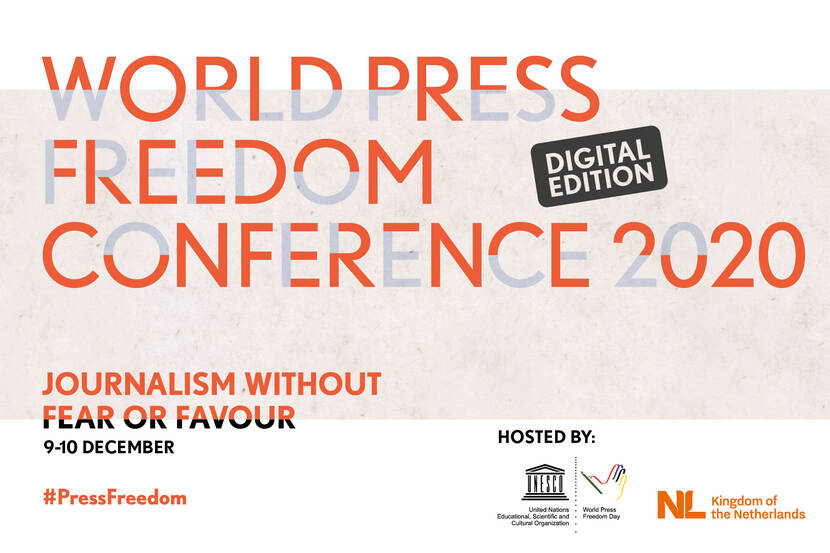 World Press Freedom Conference 2020 - Digital Edition - 9 & 10 December